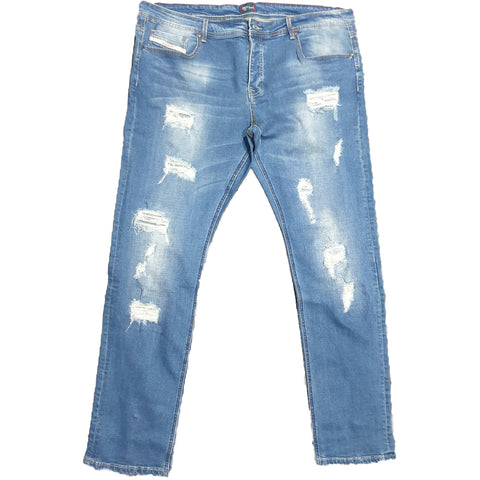 Big Size Ripped Jeans