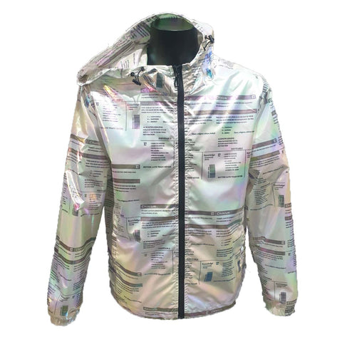 Light Weight Printed Jacket