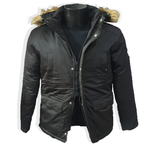 Extra Warm Hoody Jacket with Detachable Hood