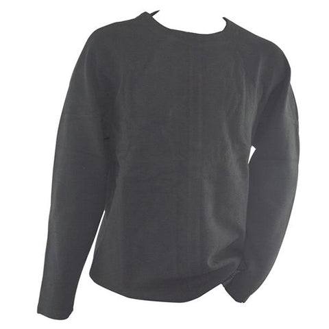 Plain Black Sweat Shirt 5774A
