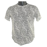 Grey and White Net Printed T-Shirt 5794