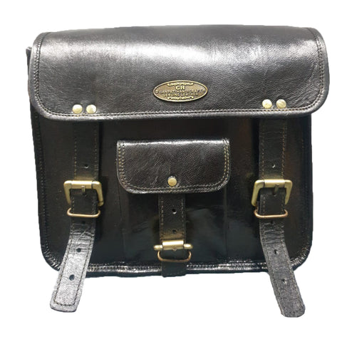 Leather Motor Bike Side Bag