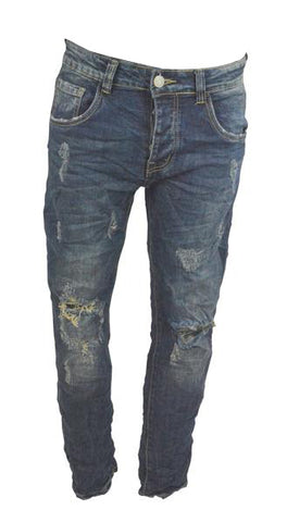 Dark wash Ripped jeans 2438