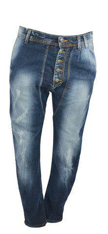 Italian Front Button Jeans 2429