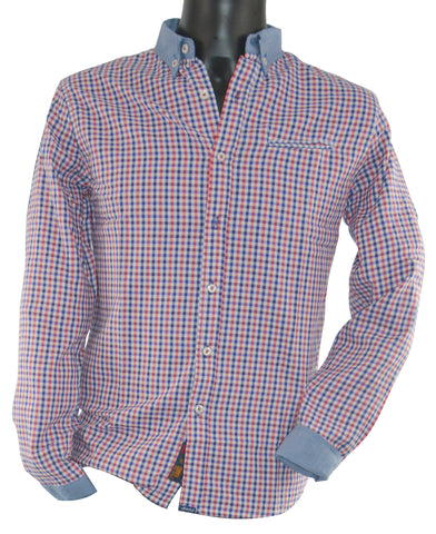 Check Shirt Small Check 3813