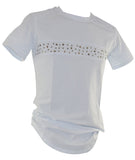 White Stud T-Shirt 5801