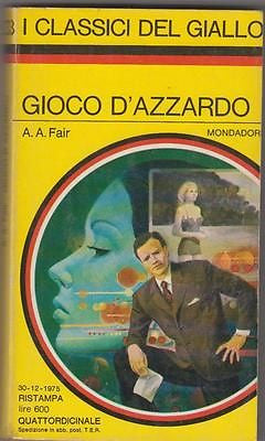 A. A. Fair: Gioco d'azzardo