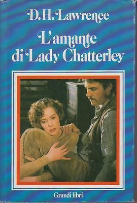 D. H. Lawrence: L'amante di Lady Chatterley. Euroclub 1983 (g063)
