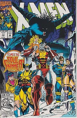 Fabian Nicieza: Comes the soul skinner! X-Men vol. 1 n° 17. Marvel Comics 1992