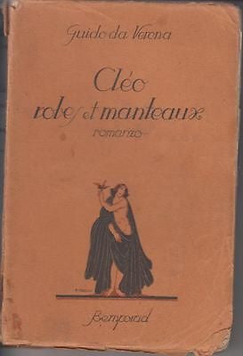 Guido da Verona: Cléo rives et manteaux. Bemporad 1926 (g170)