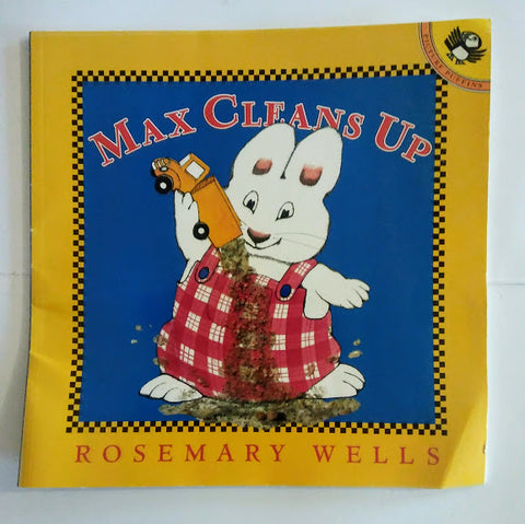 Rosemary Wells: Max cleans up