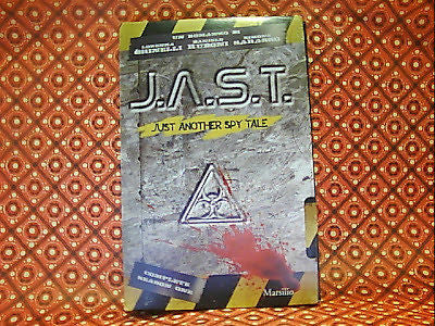 GHINELLI: J.A.S.T., JUST ANOTHER SPY TALE COMPLETE SEASON 1. MARSILIO 2010