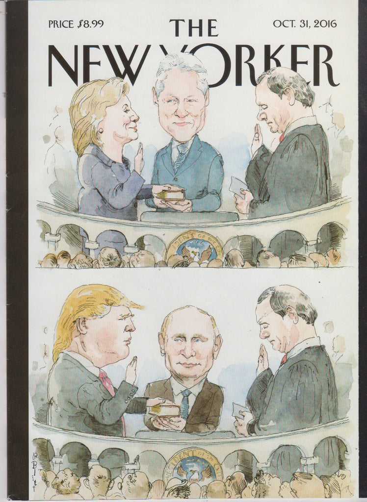The New Yorker - Oct 31, 2016 - The politics Issue