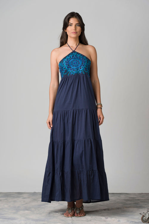 Atenas Embroidered Maxi Dress