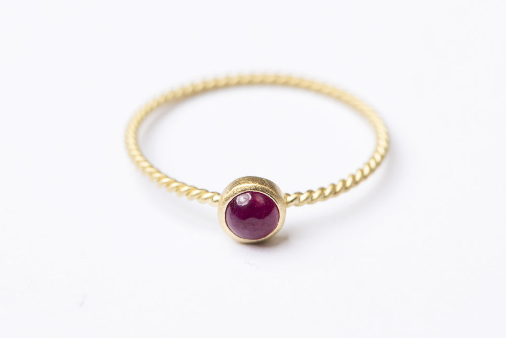 Delilah Ruby Ring