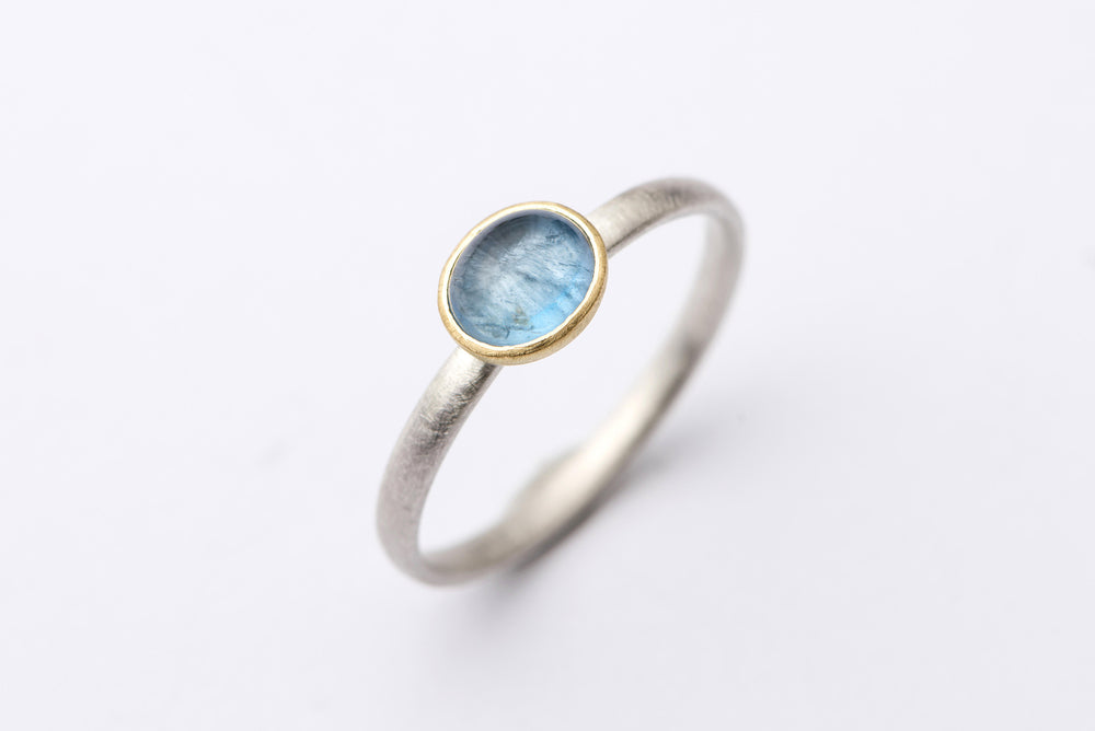 Aquamarine Puri Ring