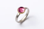Pink Tourmaline Puri Ring