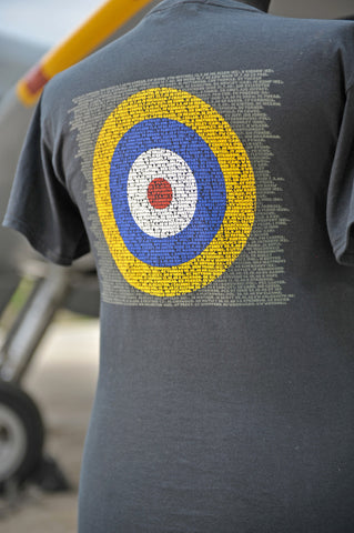 BATTLE OF BRITAIN ROUNDEL T-SHIRT
