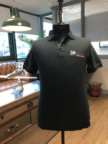 MUSTO ACADEMY POLO T-SHIRT BLACK