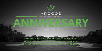 Arccos is 1 year old! Come celebrate with us