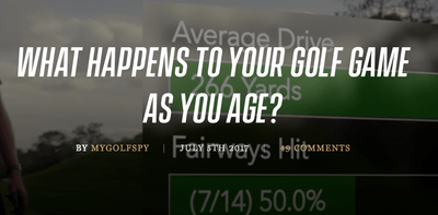 What Happens to Your Game as You Age