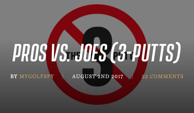 Pros vs. Joes: Analyzing 3-Putts