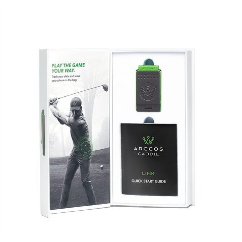 Arccos Caddie Link - Open Packaging Shot