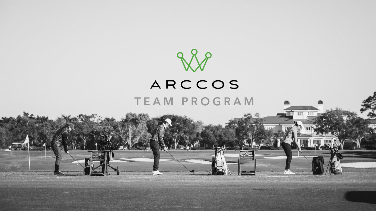 Golf Team Program with Player Data Powered By Arccos