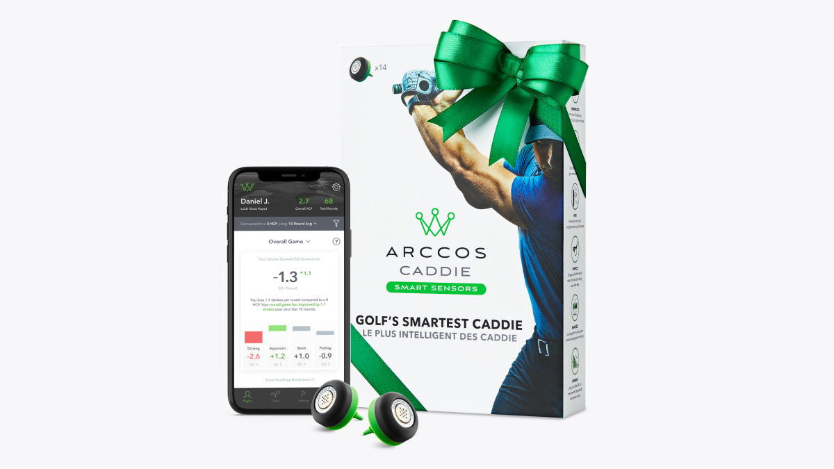 Arccos Caddie Smart Sensors - Perfect gift for a golfer