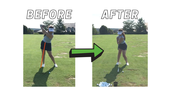 before and after hip adjustments in swing