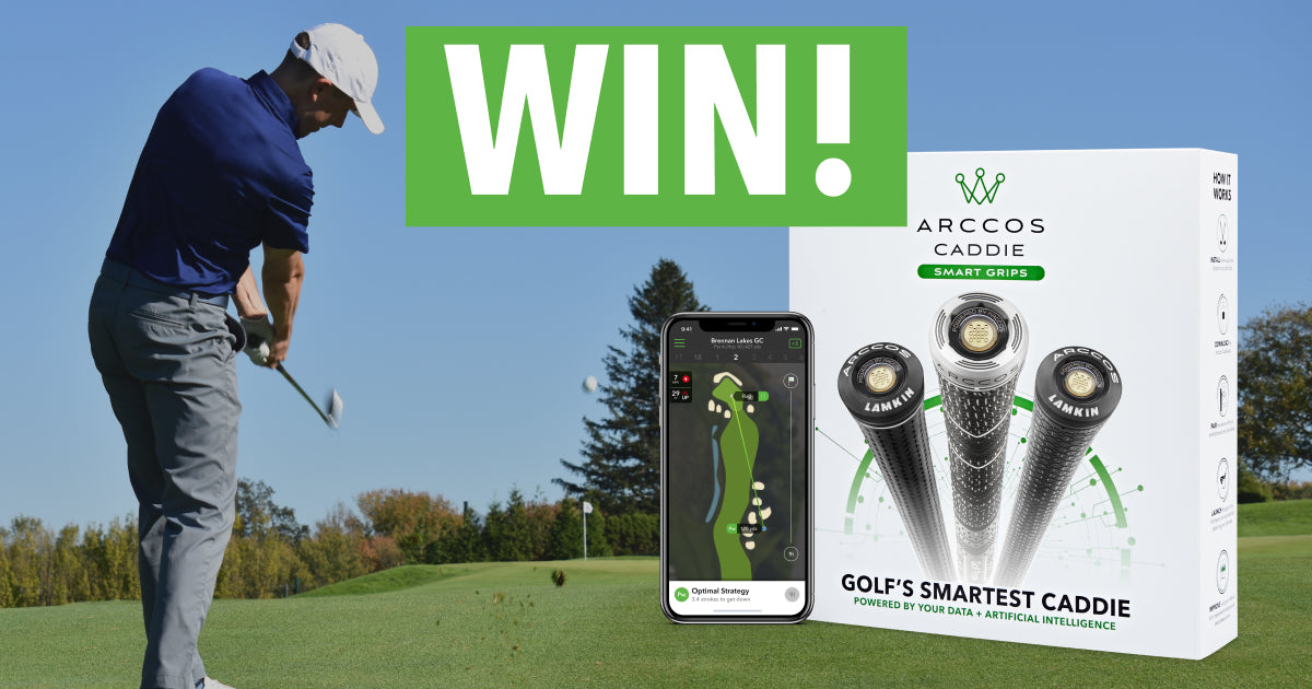 Win a set of Arccos Caddie Smart Grips