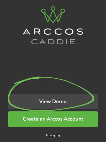 Arccos View Demo