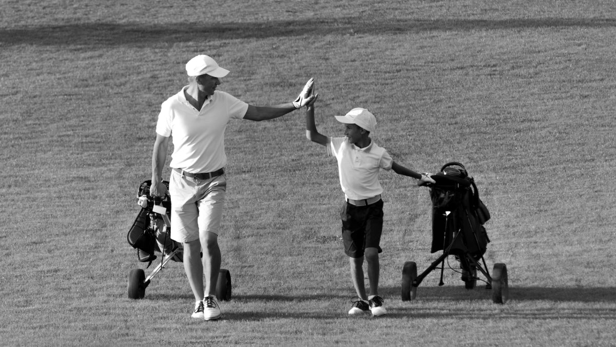 Making Memories with Dad on the Golf Course
