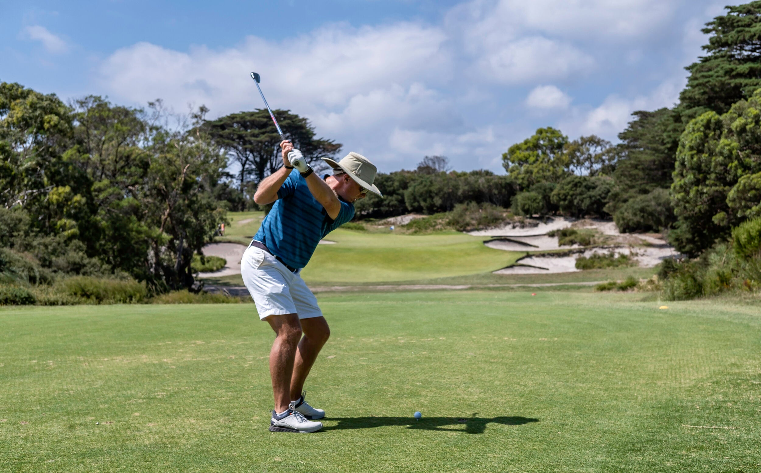 Andrew Rice at Royal Melbourne