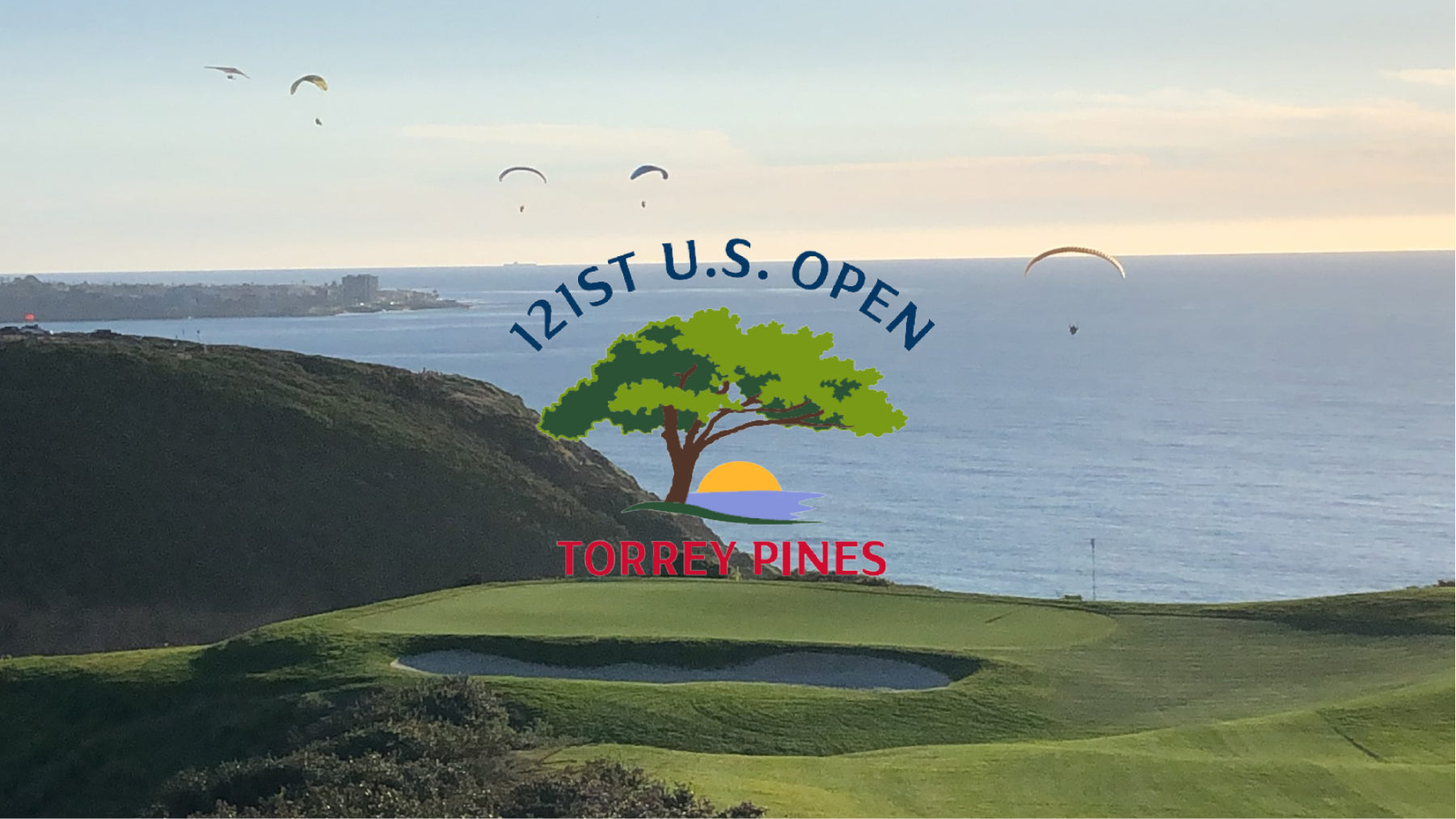 Torrey Pines South Course paragliders