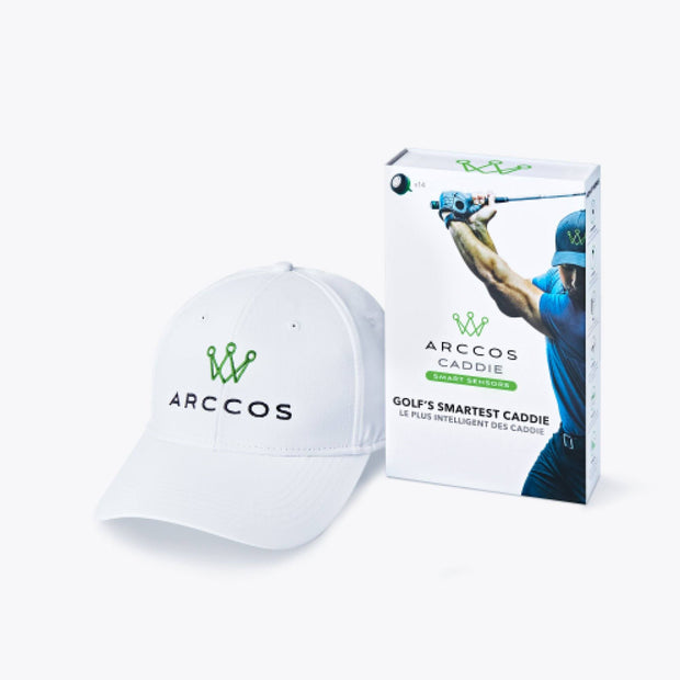 Arccos Caddie Father's Day Bundle - White Hat