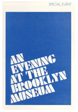 Stencil Tee Blue by Brooklyn Museum x Only NY