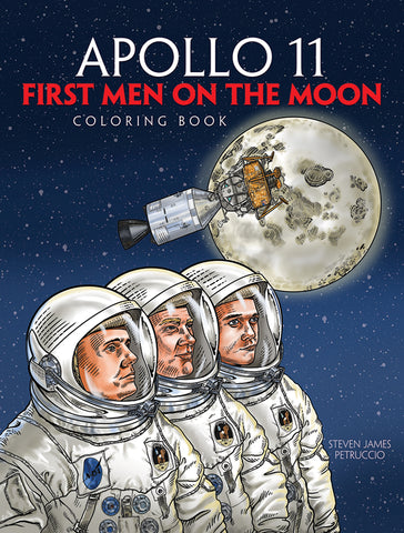 Apollo Men on the Moon Coloring Book