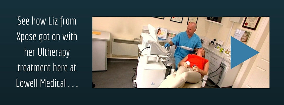 Xpose video - Liz gets ultherapy treatment in Dublin