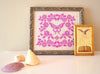 Madame Butterfly Cross Stitch Pattern