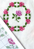 Rose Garden Sampler Cross Stitch Pattern