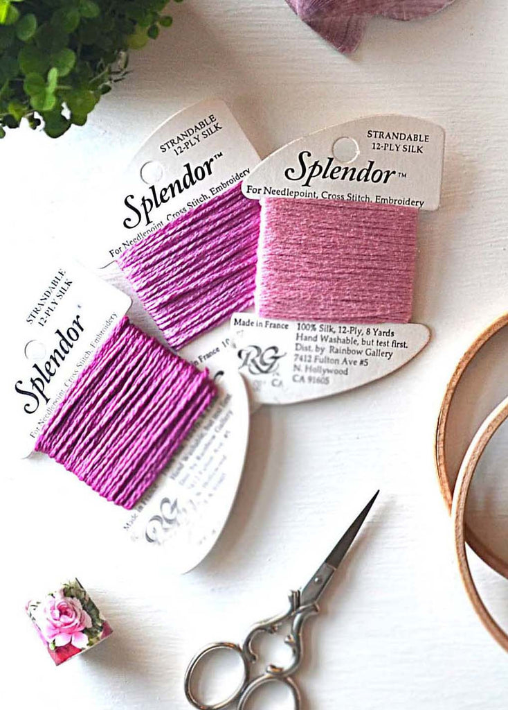 Paris Pink French Silk Thread