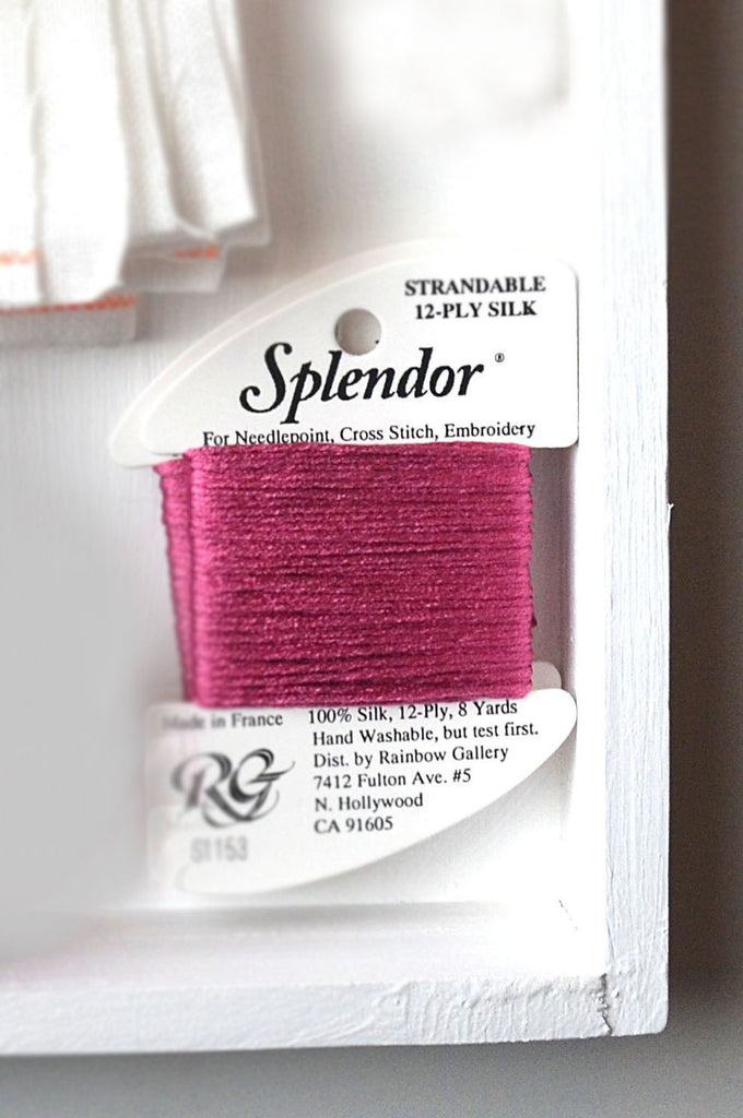 French Raspberry Embroidery Floss