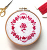 Redwork Roses ~ Free PDF Cross Stitch Pattern