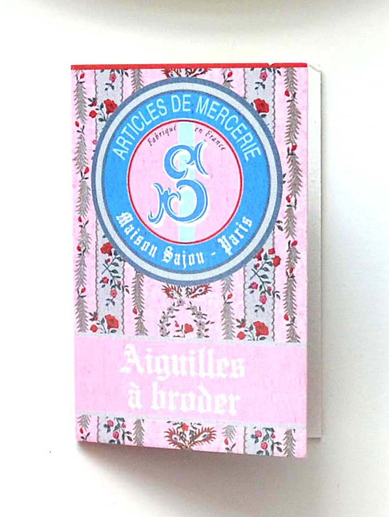 Sajou Pink Embroidery Needle Booklet