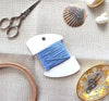 French Blue Silk Embroidery Floss