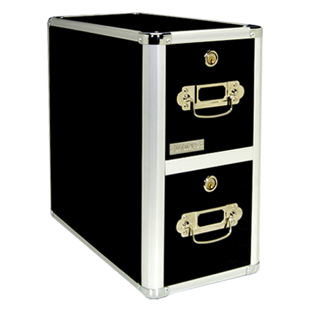 Vaultz 330 Disc Capacity Locking CD-DVD Cabinet