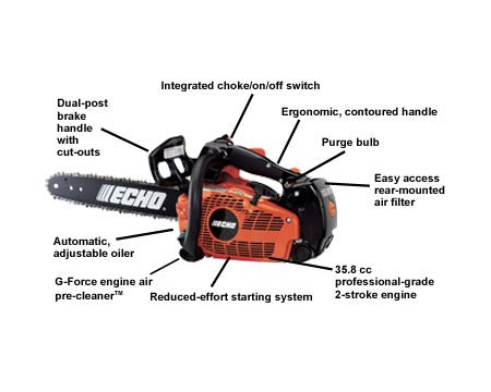 Chain Saw CS355T 14