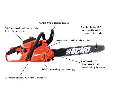 Chain Saw CS370F 16