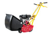 Front throw reel mower 7-blade with grass catcher (5 HP)